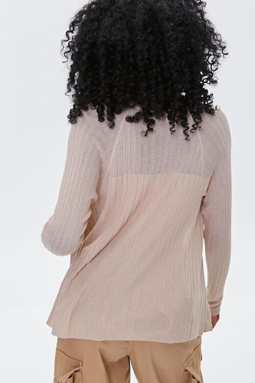 Ribbed Cardigan Sweater, image 3