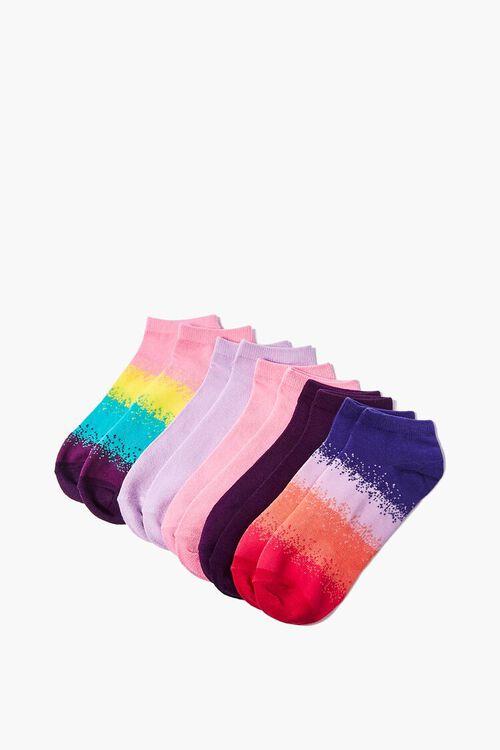 Striped Ankle Socks Set - 5 pack, image 1