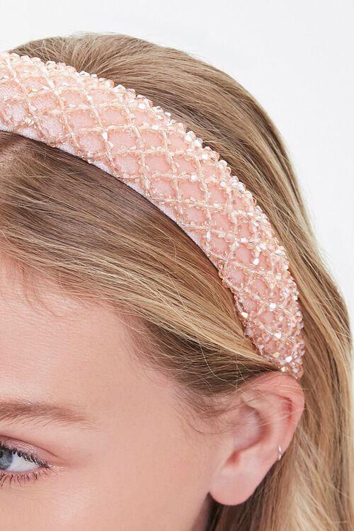 Beaded Lattice Headband, image 2