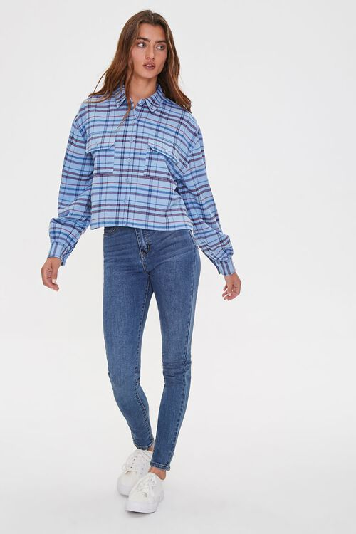Plaid Drop-Sleeve Shirt, image 4