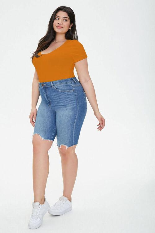 Plus Size Short Sleeve Bodysuit, image 4