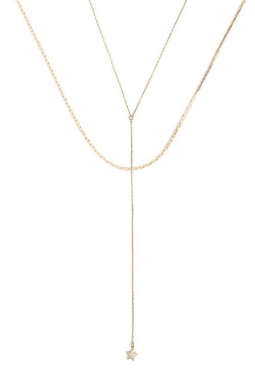 GOLD Star Charm Necklace Set, image 1