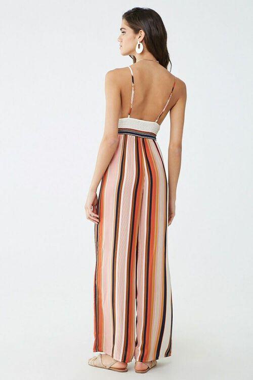 Striped Cami Jumpsuit, image 3