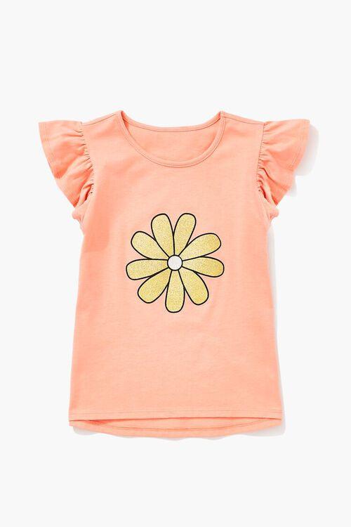 Girls Daisy Graphic Top (Kids), image 1