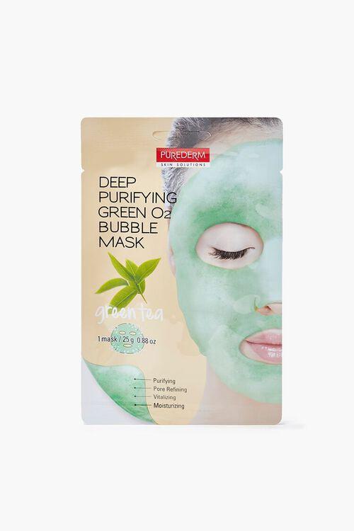 GREEN Green Tea Bubble Sheet Mask, image 1