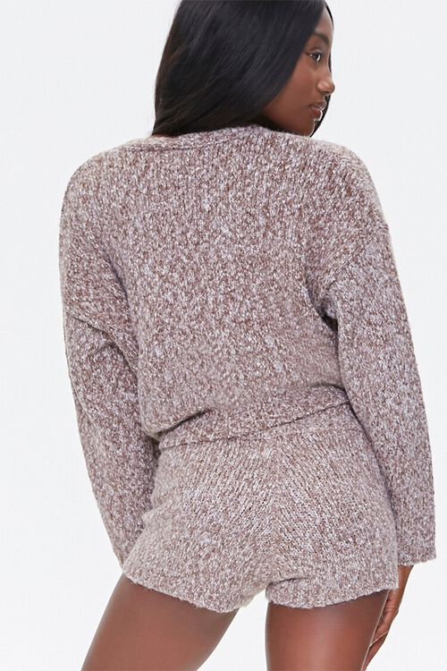Marled Button-Front Cardigan, image 3