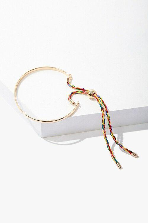 Braided Rope Bangle, image 1