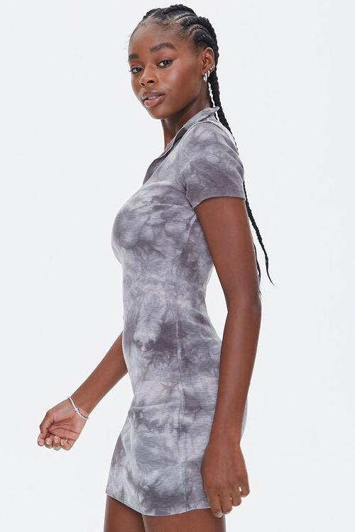 Tie-Dye Half-Zip Dress, image 2