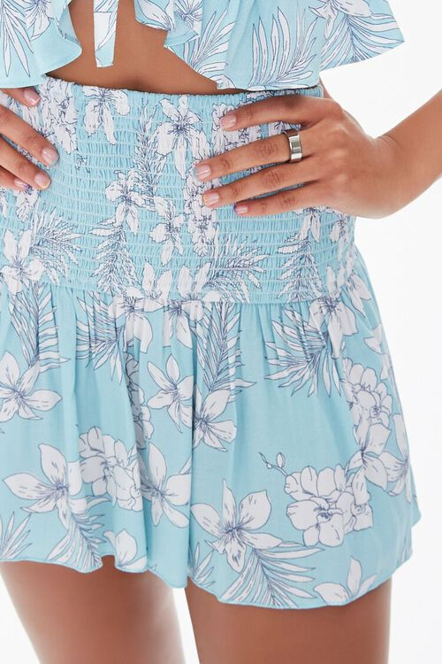 Floral Print Mini Skirt, image 5