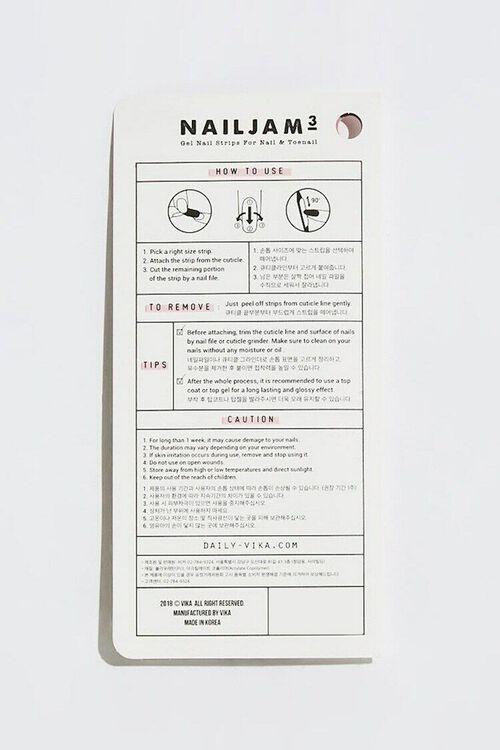 Nail Jam 3 Gel Nail Sticker Set – Posh Affair, image 2