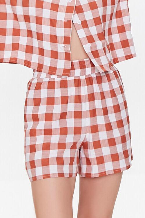 Gingham Shirt & Shorts Set, image 6