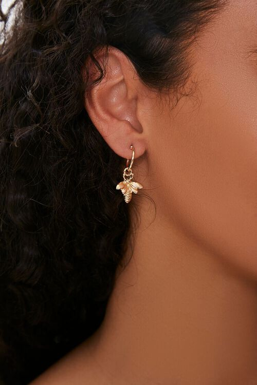 Insect Pendant Stud Earrings, image 1