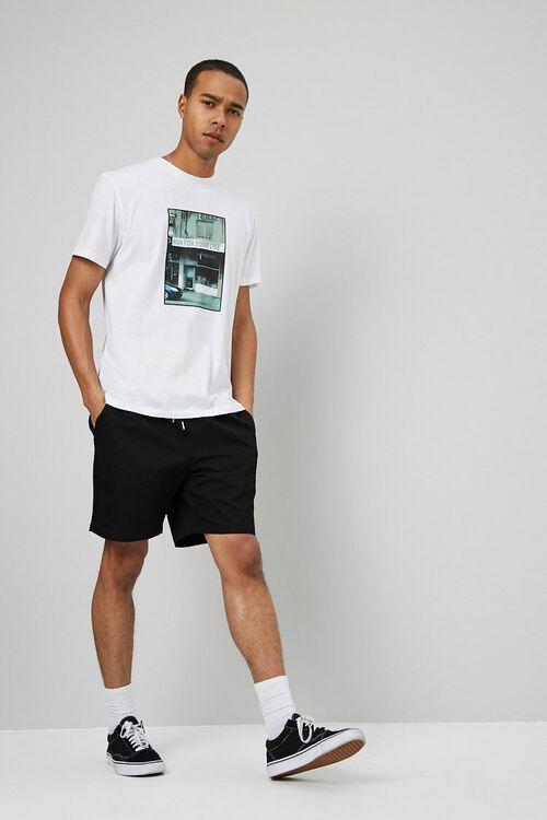 Drawstring Chino Shorts, image 5