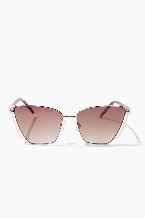 Square Tortoiseshell Sunglasses, image 1