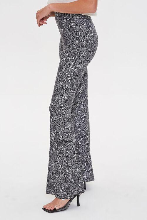 Jordyn Paisley Print Flare Pants, image 3