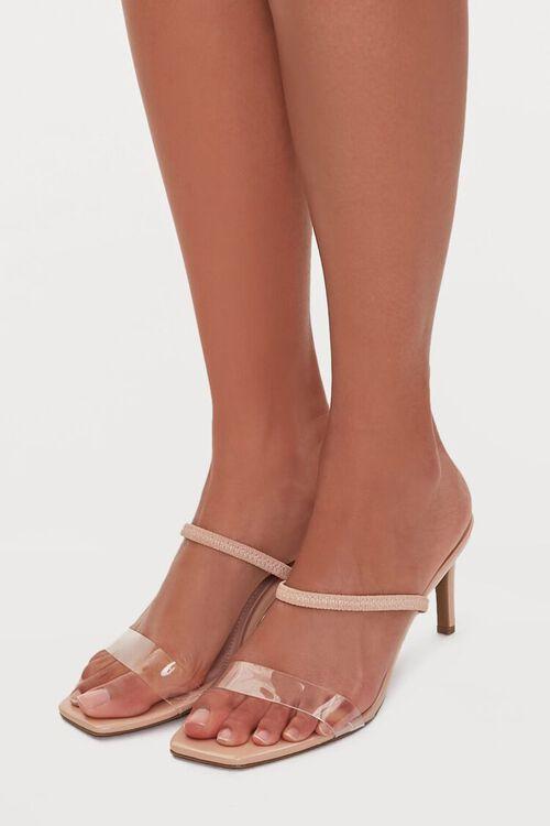Square-Toe Strap Heels, image 1