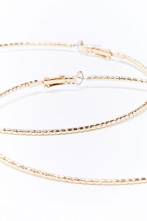 Etched Hoop Earrings, image 3
