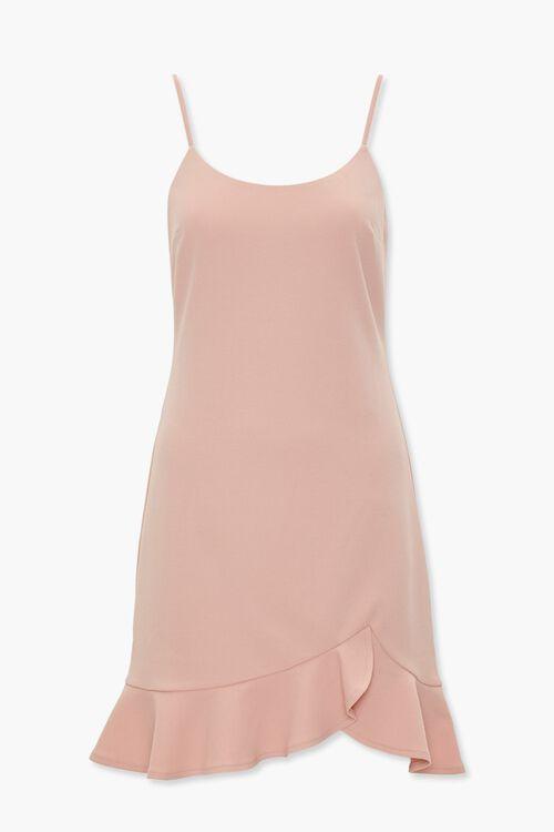 Ruffle Tulip-Hem Mini Dress, image 1