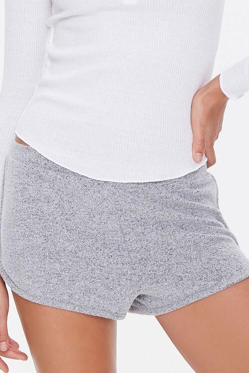 Ribbed Knit Henley Pajama Top, image 6