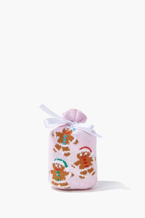 Girls Gingerbread Crew Socks (Kids), image 3