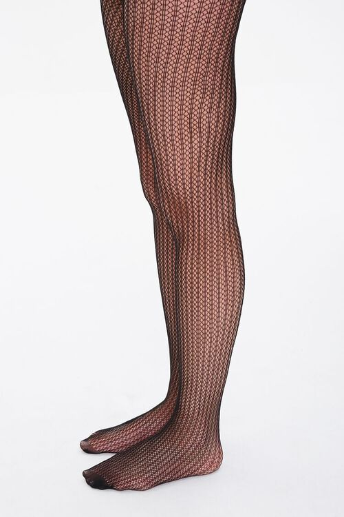 Stripped Netted Tights, image 2