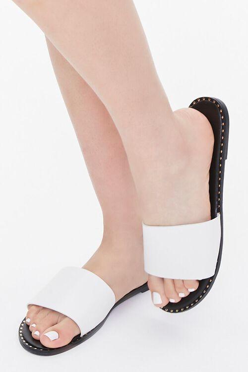 Studded Slip-On Sandals, image 1