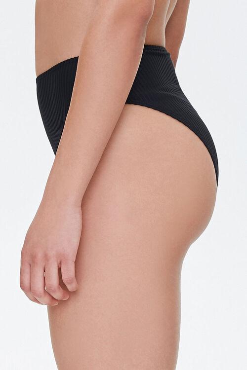 High-Rise Cheeky Bikini Bottoms, image 3
