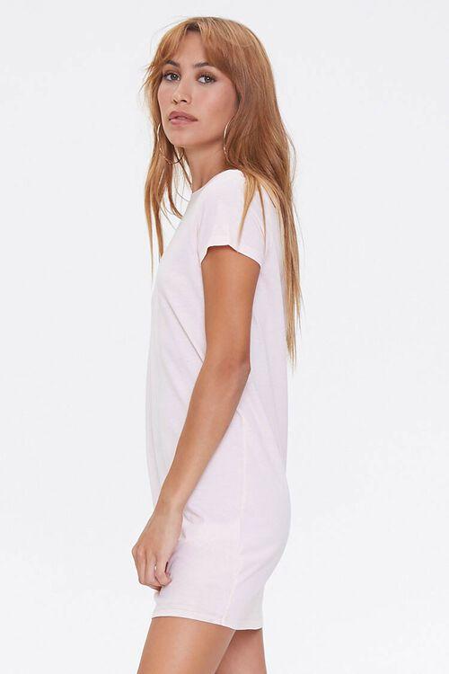 Crew Neck T-Shirt Dress, image 2