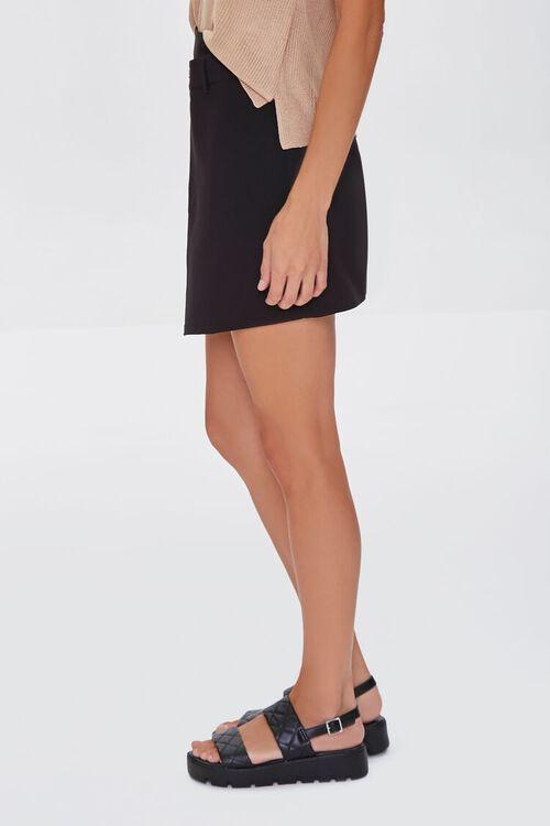 BLACK Overlay Mini Skirt, image 3