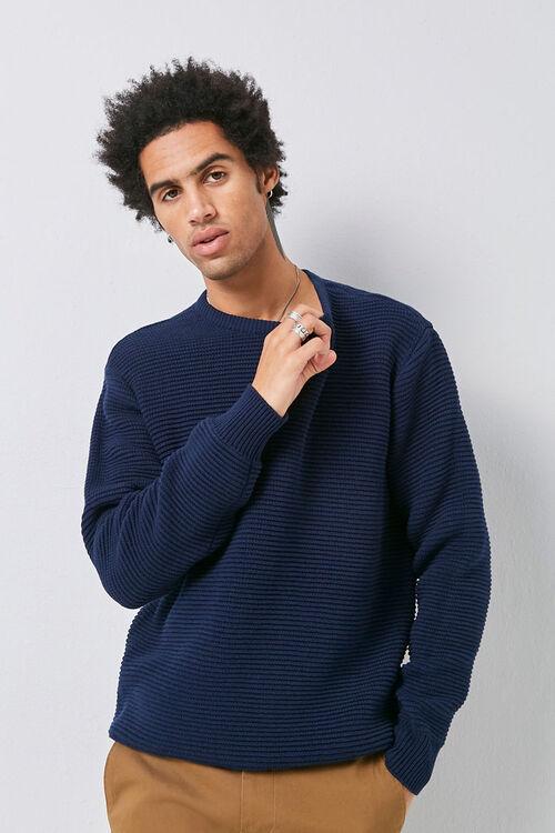 Ribbed Long Sleeve Sweater, image 5