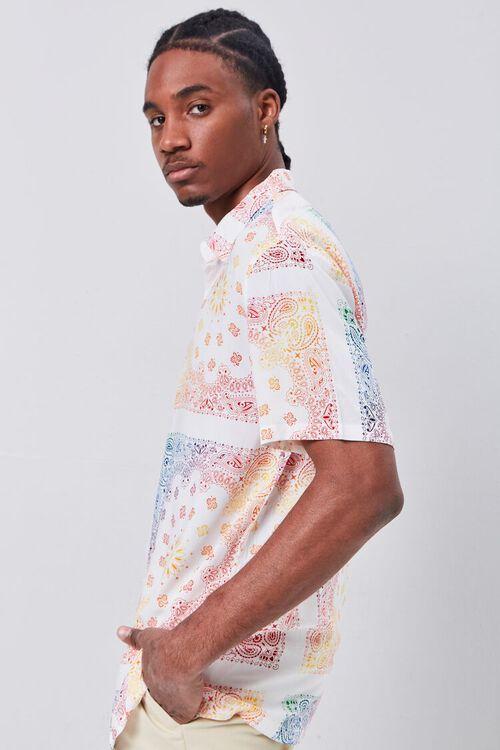 CREAM/MULTI Classic Fit Ornate Print Shirt, image 2