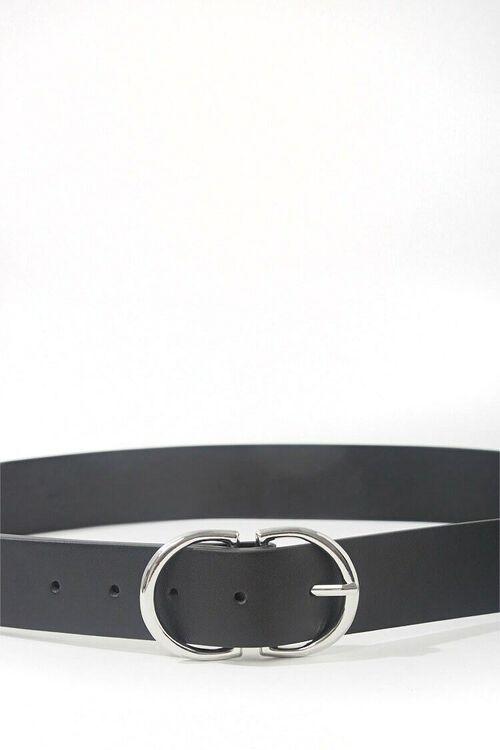 Faux Leather D-Ring Belt, image 3