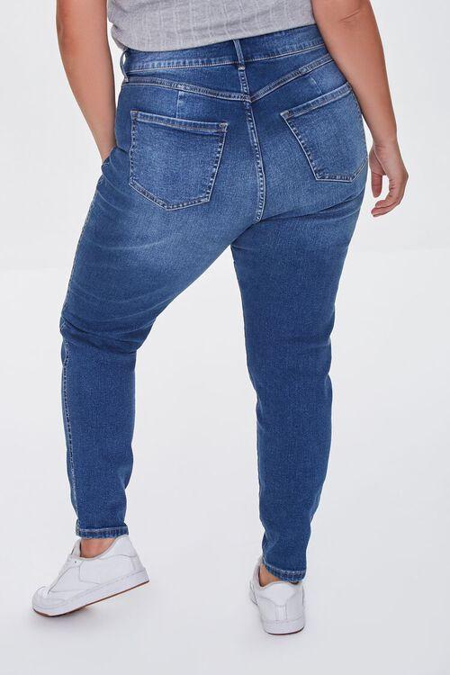 DARK DENIM Plus Size Skinny Uplyfter Jeans, image 4