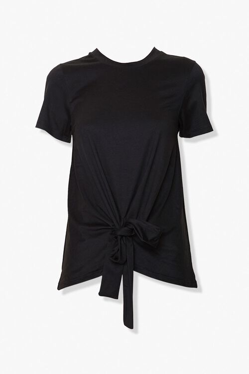 Knotted Self-Tie Tee, image 1