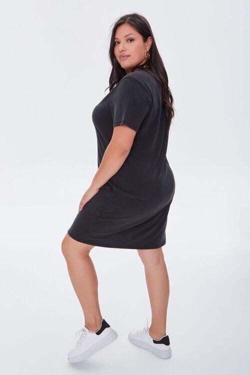 Plus Size Cutout T-Shirt Dress, image 2