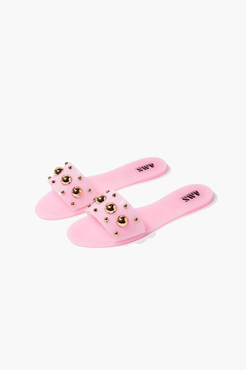Studded Jelly Sandals, image 3