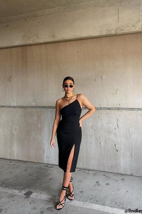 One-Shoulder Cami Dress, image 1