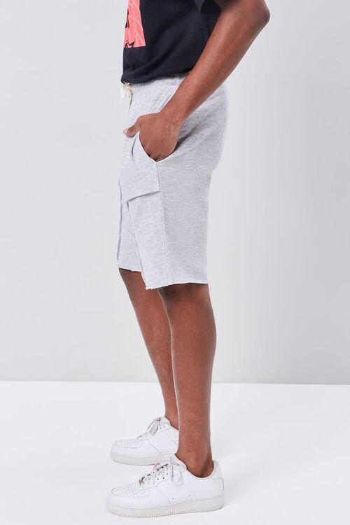 Heathered Twill Drawstring Shorts, image 3