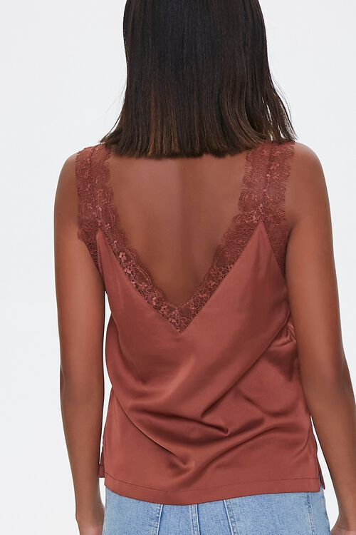 Eyelash Lace-Trim Tank Top, image 3