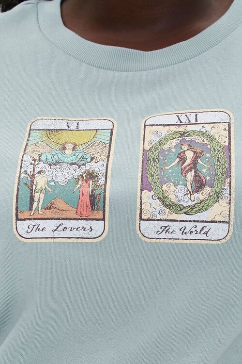 Plus Size Tarot Graphic Pullover, image 5