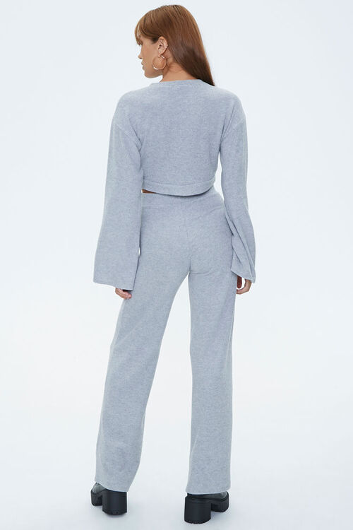 Bell Sleeve Pullover & Flare Pants Sets, image 3