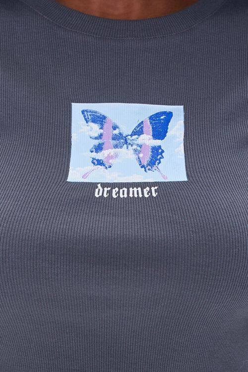 Dreamer Butterfly Graphic Tee, image 5