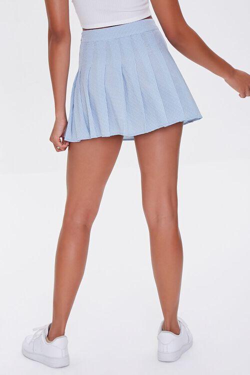 Plaid Pleated Mini Skirt, image 4