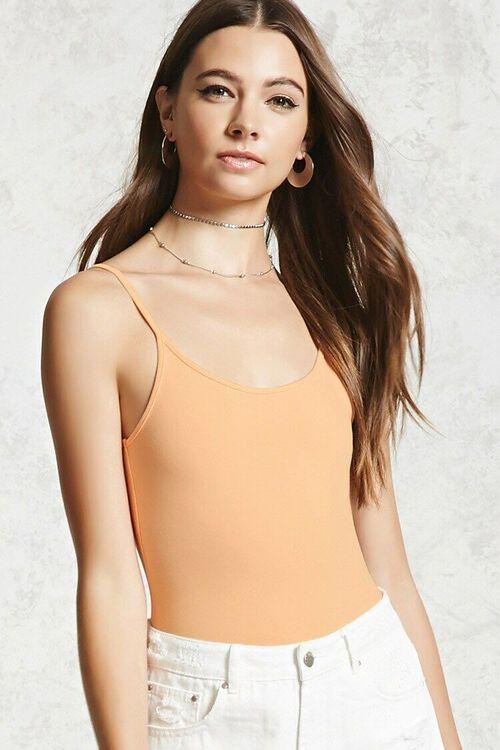 Stretch Knit Bodysuit, image 1