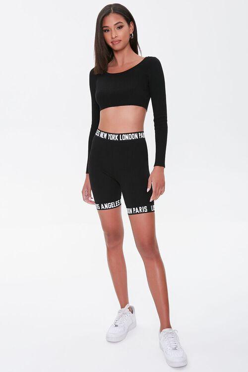 City Graphic Biker Shorts, image 5