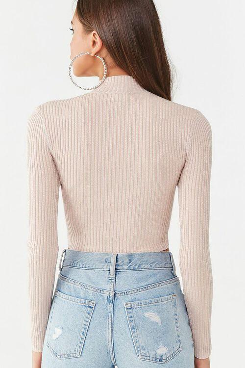 Metallic Ribbed Sweater, image 3