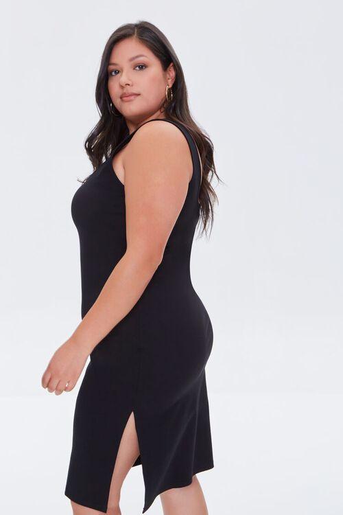 Plus Size Slit Tank Dress, image 2