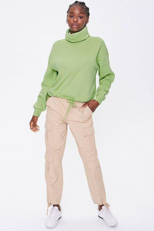 Fleece Turtleneck Sweater, image 4