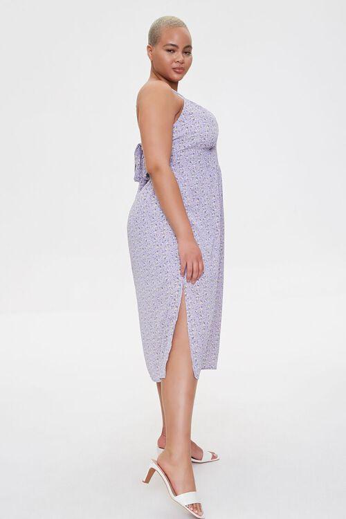 Plus Size Floral Cami Midi Dress, image 3
