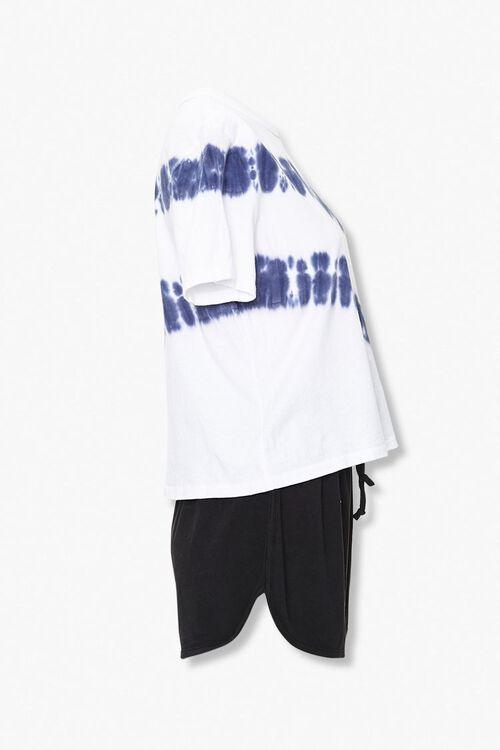 Tie-Dye Tee & Dolphin Shorts Set, image 2
